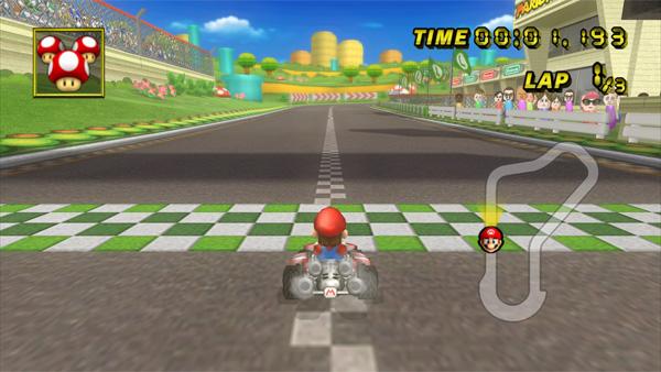 Mario Kart Working