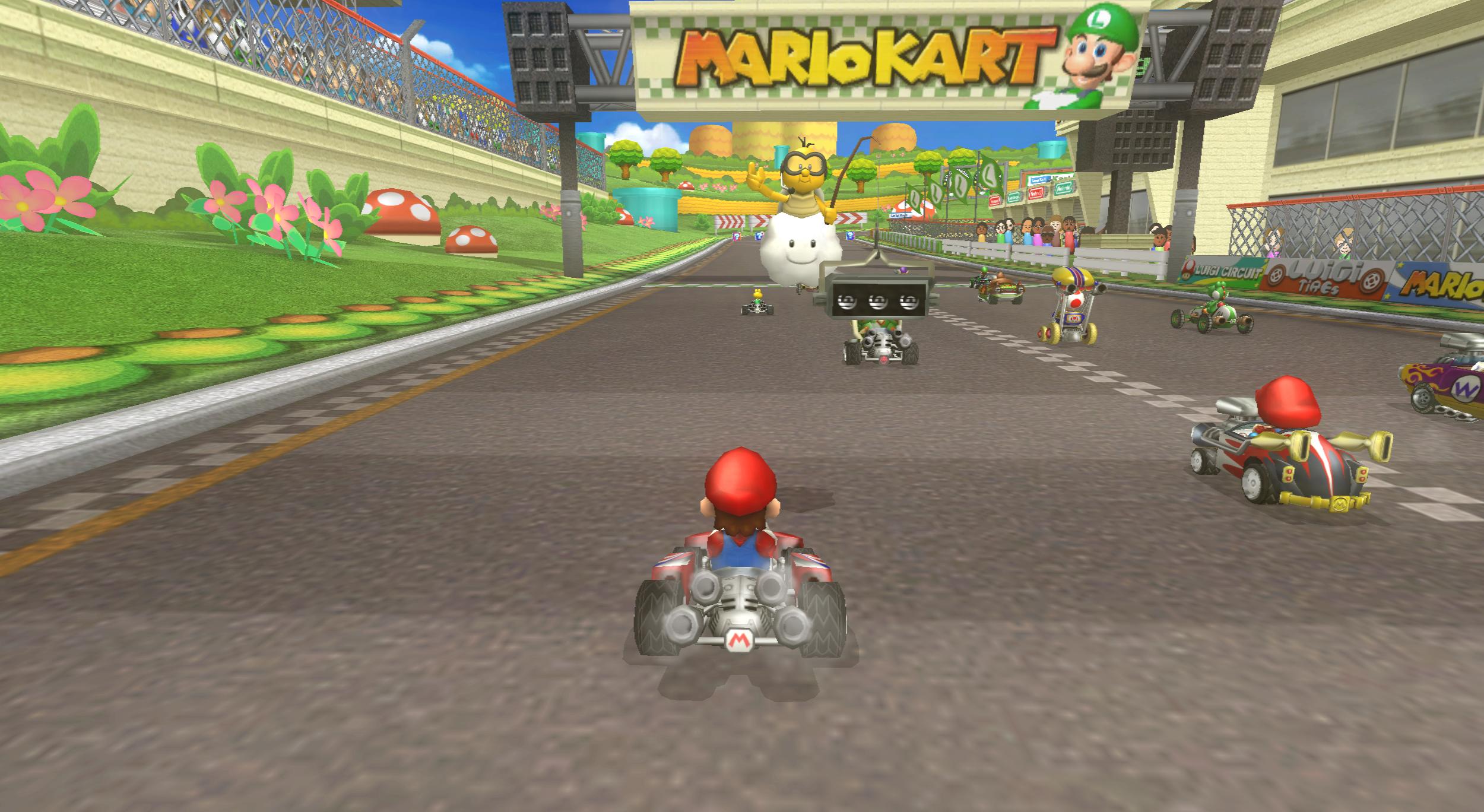 Mario Kart Wii Wii Walkthrough Snes Mario Circuit 3 Youtube
