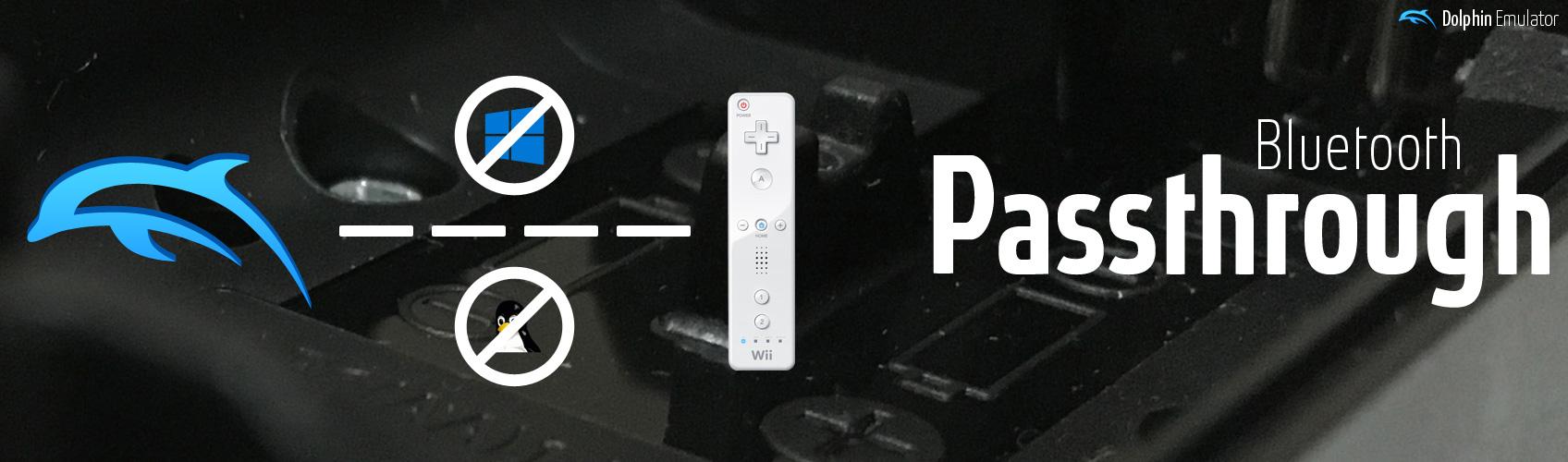 Dolphin Emulator - Bluetooth Passthrough